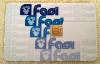 fasi usb card